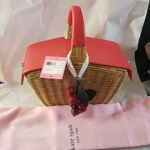 COPY - Kate spade  picnic 3d wicker picnic basket…